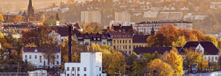 The Morning of Oslo, Norway