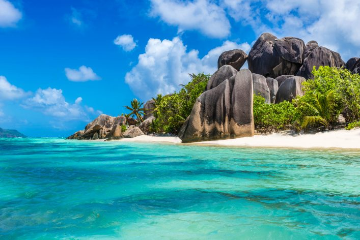 Anse Source d'Argent – beach on island in Seychelles