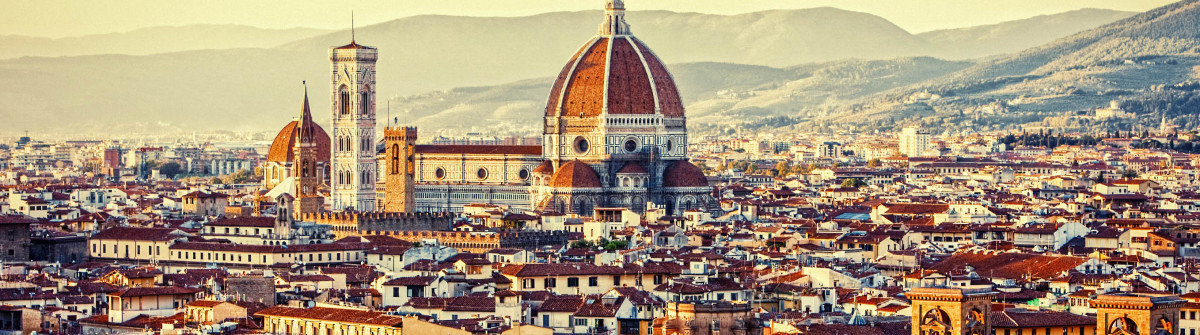 Florence, Italy – view from above