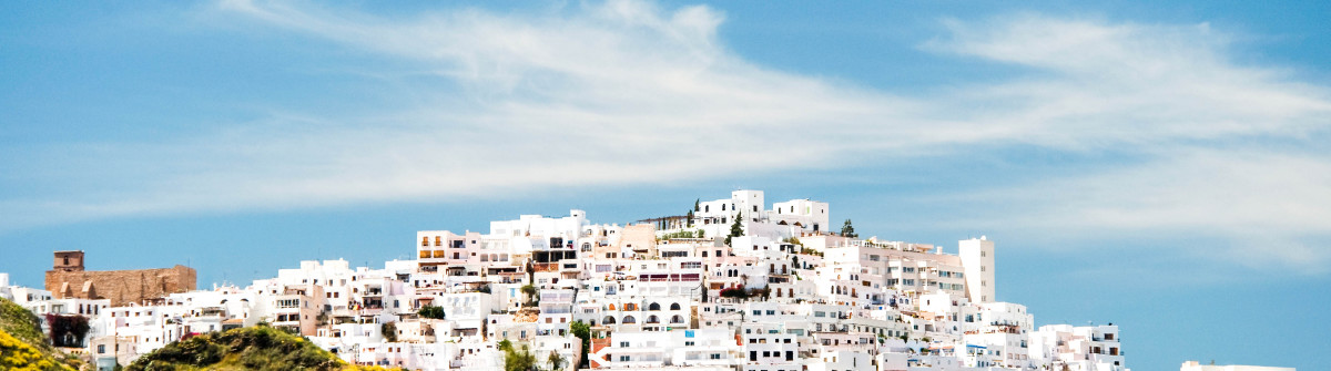 """Mojacar Village, Almeria, Andalusia, Spain"""