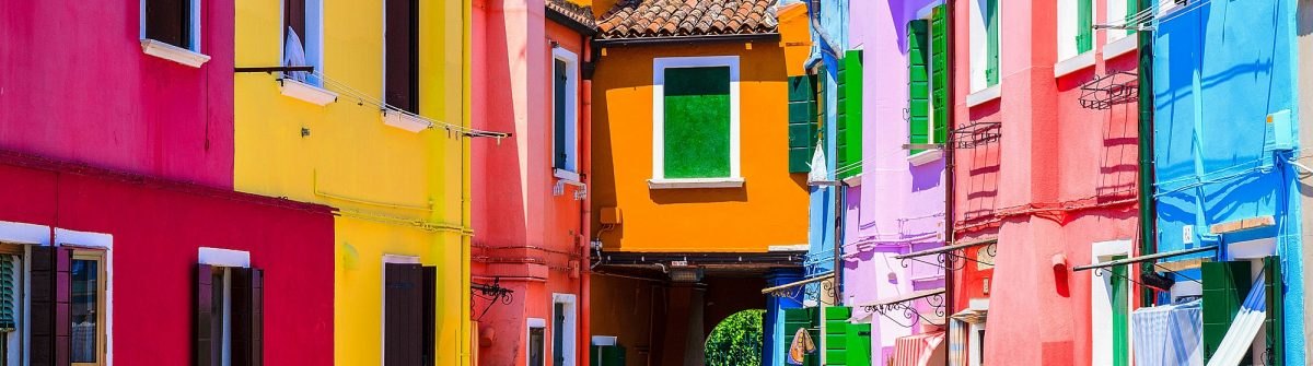 Colourful Burano Venice