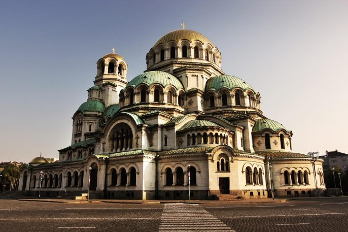 Cathedral-Alexander-Nevski-in-capital-city-Sofia-in-Bulgaria-at-the-sunset_shutterstock_161558849_1920x1280