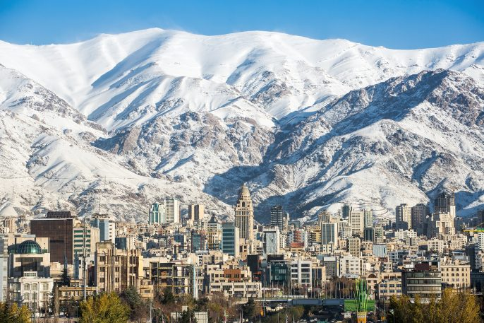 Winter-Tehran-view-with-a-snow-covered-Alborz-Mountains-on-background-shutterstock_364875146