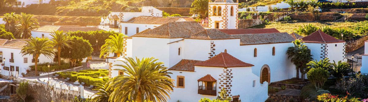 Betancuria village on Fuerteventura island