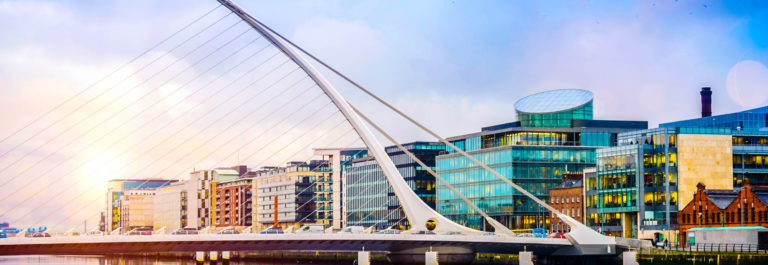 Dublin City Samuel Beckett Bridge iStock_000023055348_Large-2