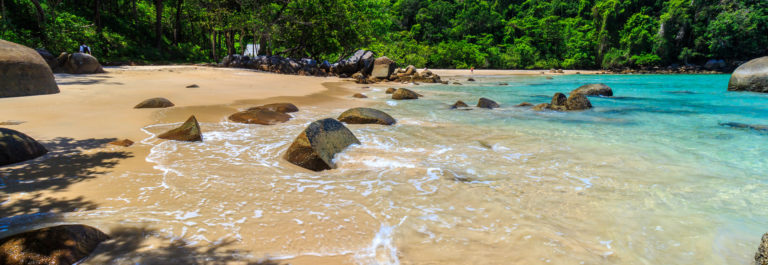 Small Sandy Beach at Lam Ru national park in Khao Lak shutterstock_316774736-2