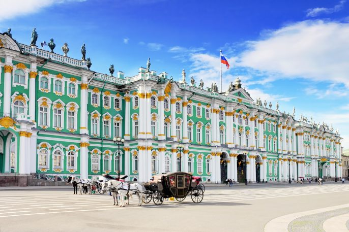 View Winter Palace square in Saint Petersburg._shutterstock_109813364 – Copy