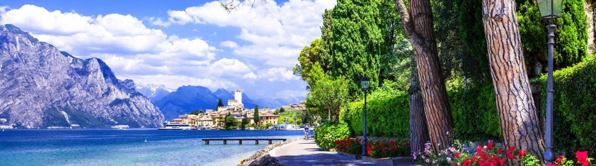scenery of northen Itlay – Malcesine, Lago di garda shutterstock_261967121-2small