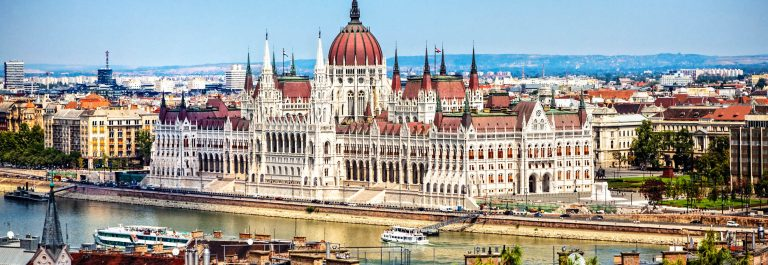 Hungarian Parliament Building – day view from the Castle Hill