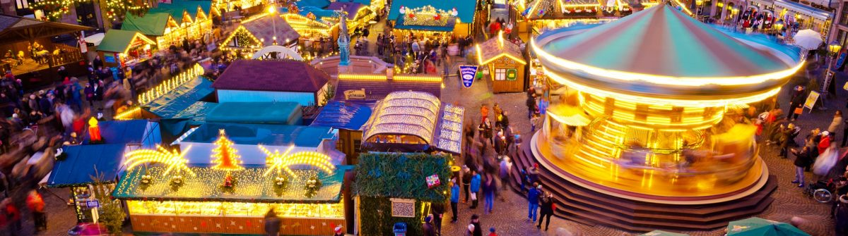 Christmas market in Frankfurt, Germany