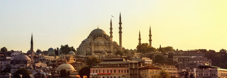 View of the Blue Mosque