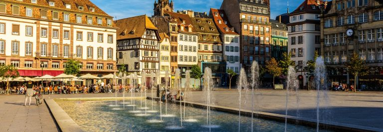 Place Kleber in Strasbourg – Alsace, France