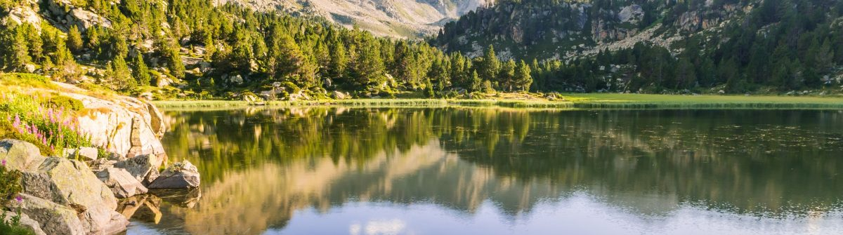 Estany-Primer-lake-in-Andorra-Pyrenees-Mountains.-shutterstock_739845949