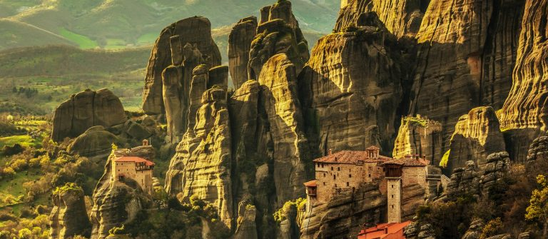Meteora monasteries in Greece shutterstock_277585538-2
