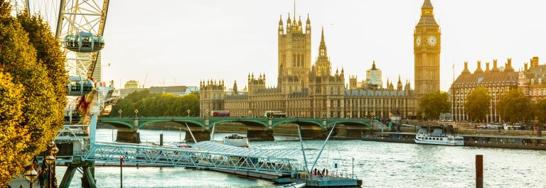 Landmarks of London, UK