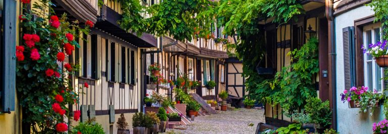 Half-timbered houses Gengenbach Black Forest