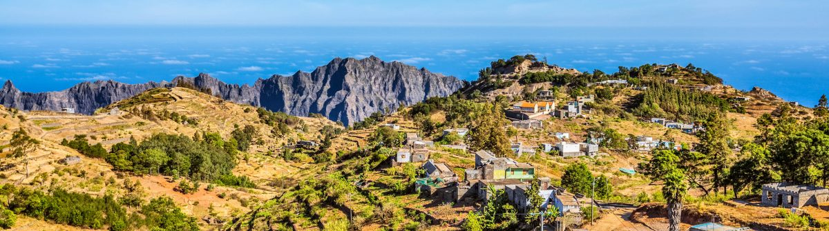 Small village of Santo Antao, Cape Verde