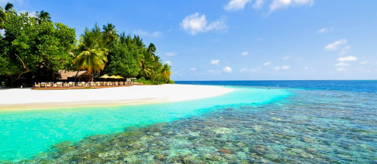 Tropical White Sand Maldives