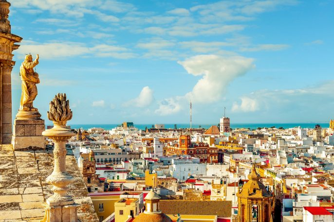 an-aerial-view-of-the-roofs-of-Cadiz-Spain-from-the-belfry-of-its-Cathedral_416281882