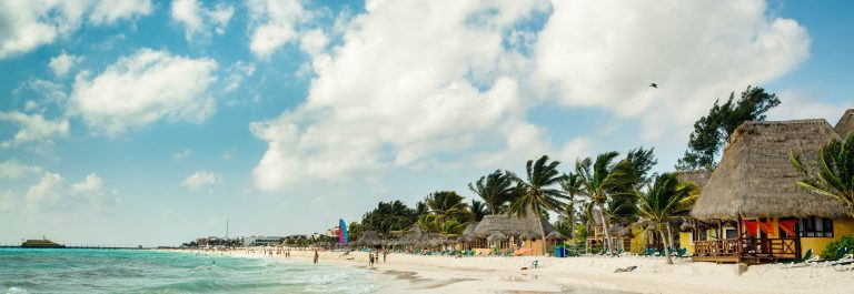 Playa Del Carmen Beach, Mayan Riviera Hotels near Cancun, Mexico