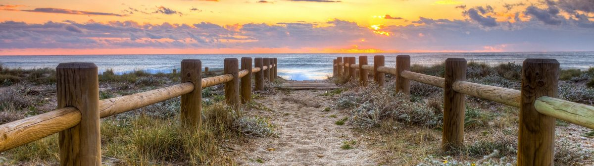 Sunset beach in Gabo de Gata, Almeria, Spain. -This photo made by hdr technic_216622546