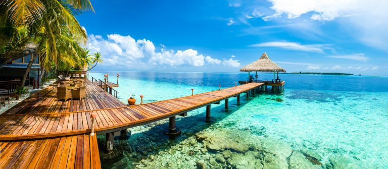 Tropical paradise landscape in Maldives shutterstock_538014487