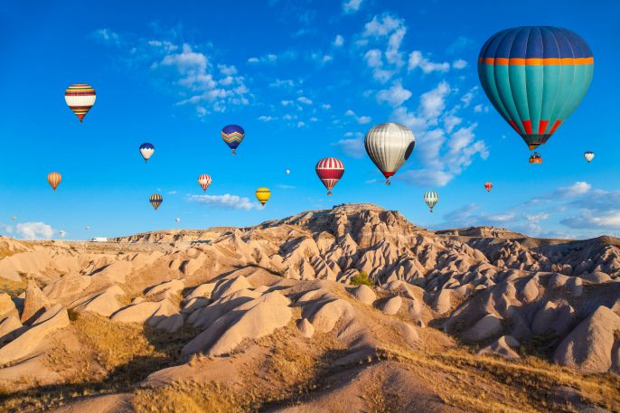 Hot Air Ballons of Cappadocia