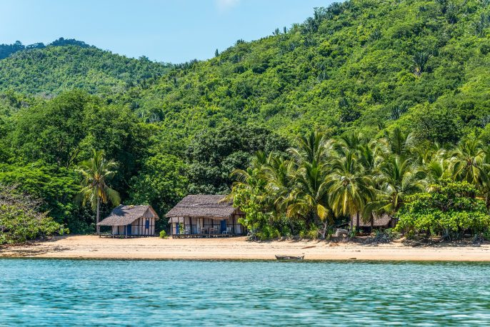 Lokobe Strict Reserve beach view in Nosy Be, Madagascar_366323072