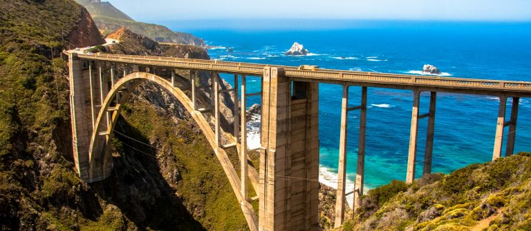 Bixby Bridge, Highway #1 Big Sur, California, USA