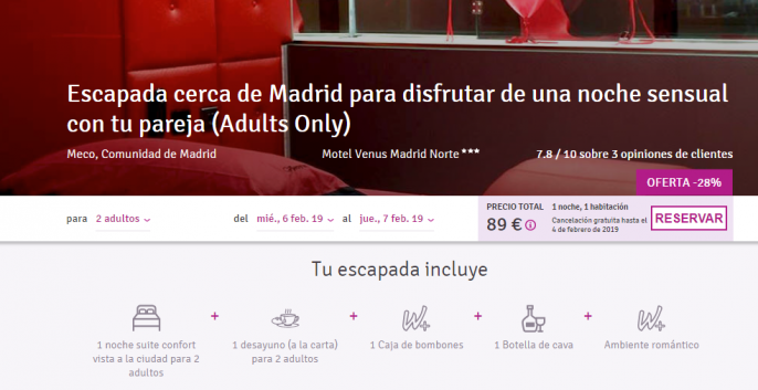Suite cerca de Madrid