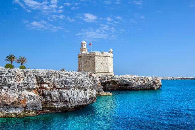 Castell-de-Sant-Nicolau-at-the-port-mouth-of-Ciutadella-de-Menorca-Spain._311186546