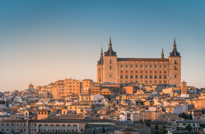 Toledo-Spain-old-town-cityscape-at-the-Alcazar.-shutterstock_516331135