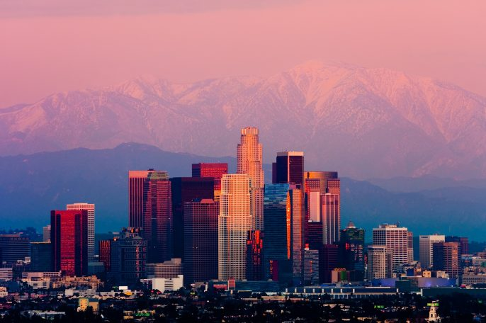 Los-Angeles-at-sunset-shutterstock_126000974