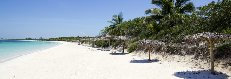 Caribbean-beach-in-the-Cayo-Santa-Maria-an-island-surrounded-by-reefs-clear-waters-and-white-sands._shutterstock_98210687