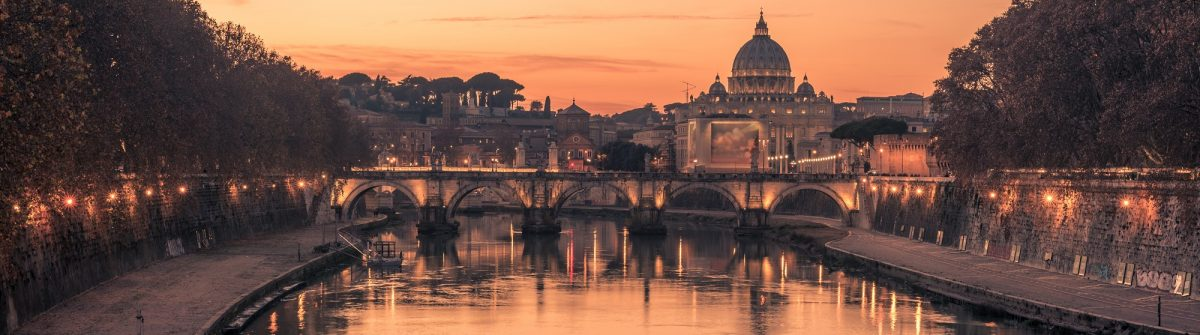 Rome-Italy-spectacular-St.-Peters-Basilica-Saint-Angelo-Bridge-and-Tiber-River-shutterstock_354863819
