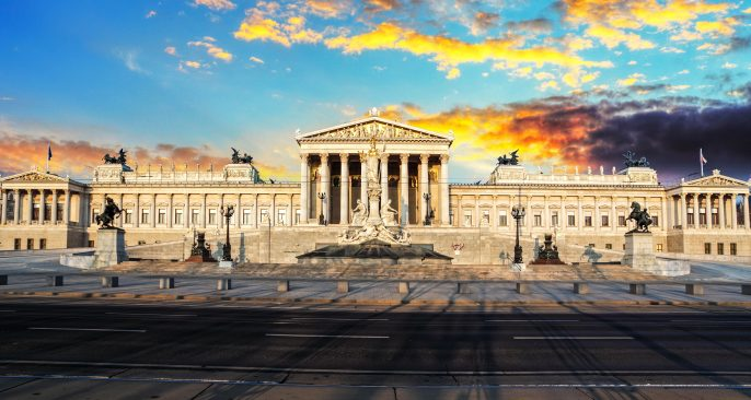Parliament-in-a-Vienna-at-yellow-sunrise-Austria-shutterstock_163136627-2