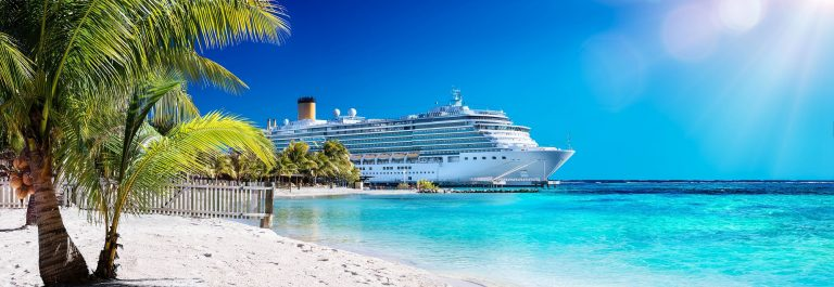 Cruise-To-Caribbean-With-Palm-tree-On-Coral-Beach-shutterstock_398270146-2