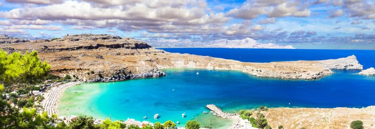 most-beautiful-beaches-of-Greece-Lindos-in-Rhodes-island-shutterstock_410901544