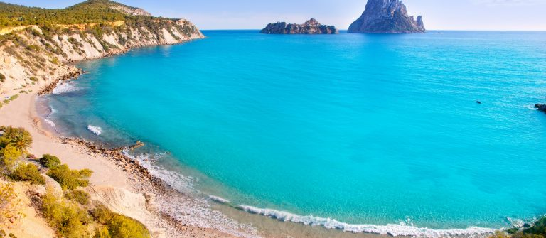 Es-vedra-island-of-Ibiza-view-from-Cala-d-Hort-in-Balearic-islands-shutterstock_107515373