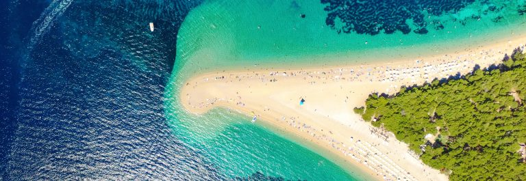 Aerial-view-of-Zlatni-rat-beach-in-Bol-Island-Brac-Croatia-shutterstock_601416818