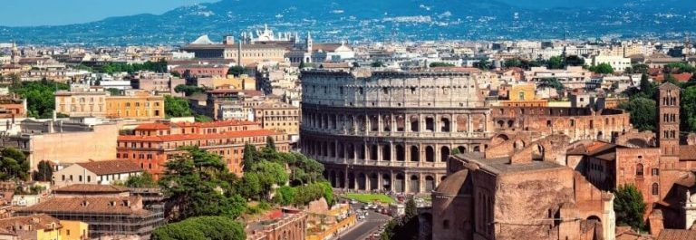 Ariel-view-of-The-Colosseum-in-Rome-Ital._shutterstock_103780211