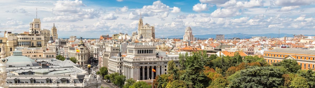 Aerial-view-Plaza-de-Cibeles-in-Madrid-in-a-beautiful-summer-day-Spain_shutterstock_322471106