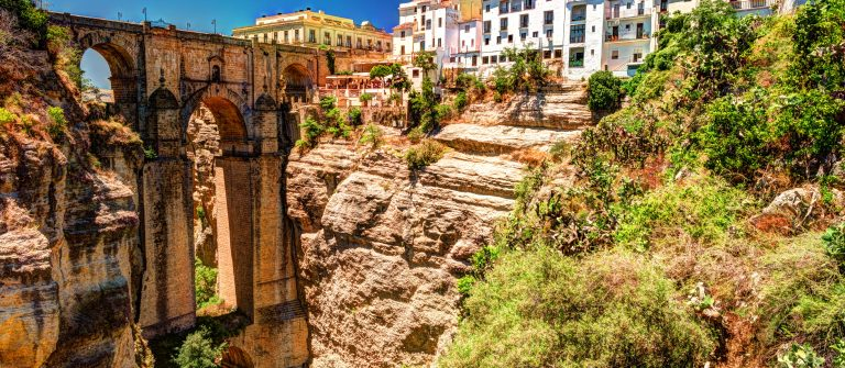 Ronda-Spain-a-landscape-with-the-Tajo-Gorge.-Image-shutterstock_575035453