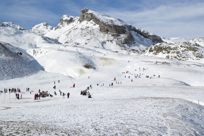Ski resort of Formigal (Huesca, Spain)