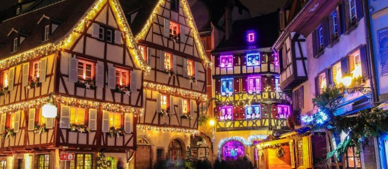 Christmas in Alsace in the city of Colmar
