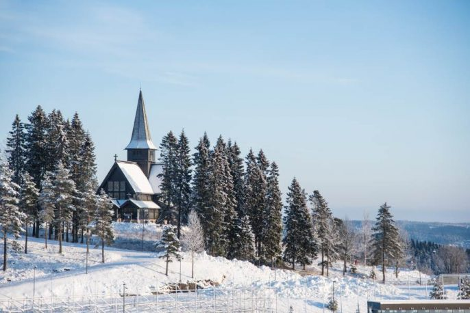 Christmas-snow-landscape-with-church-in-Oslo-Norway-shutterstock_490508431