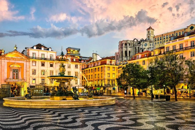 Rossio-square-in-Lisbon-Portugal-iStock_000069608703_Large