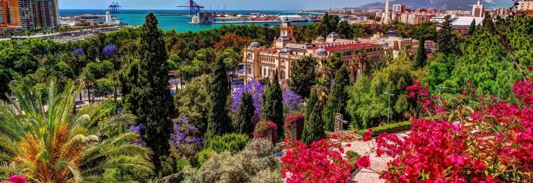Aerial-view-of-Malaga-taken-from-Gibralfaro-castle-including-port-of-Malaga-Alcazaba-castle-and-the-Cathedral-Andalucia-Spain.-Image-shutterstock_569945386_1920x1280-1