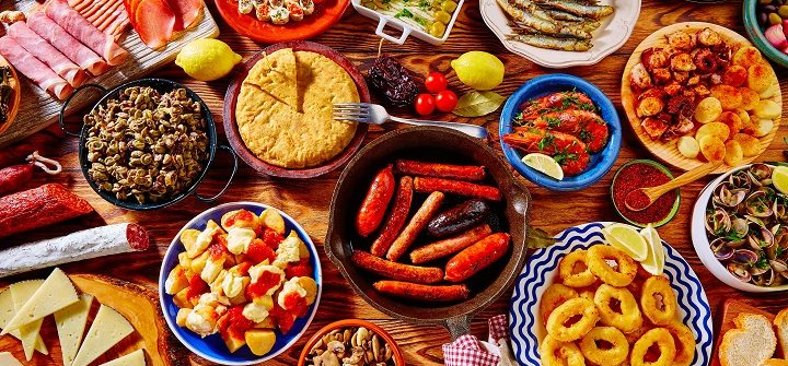 Tapas-from-spain-varied-mix-of-most-popular-tapa-mediterranean-food_shutterstock_395003893-Copy