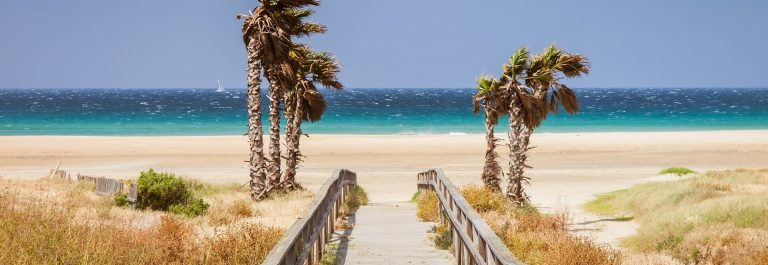 Beach-los-Lances-Tarifa-Andalusia-Spain-Europe.-Tarifa-is-the-south-most-City-of-Europe-a-a-famous-tourist-destination_657176749-1